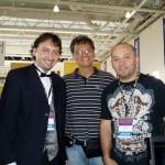 Noel with Ramon Rodriguez and Hugo Patino