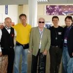 Noel with Mr. 100's, Angel, Ramon and Hugo