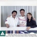 Noel with Efren Bata Reyes and Vivian Villareal