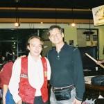 Noel and Daniel Sanchez in 2006